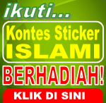 lomba desain, lomba disain, sticker islami, kontes blog, lomba desain grafis, kompetisi desain, membuat sticker, cara membuat sticker, pembuatan sticker