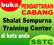 Pendaftaran Shalat Sempurna Training Center