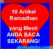kumpulan artikel ramadhan
