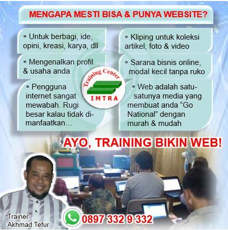 kursus web bogor