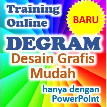 degram desain grafis mudah training online