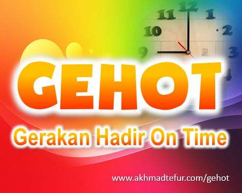 gehot gerakan hadir on time