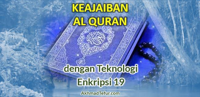 keajaiban angka 19 sembilan belas dalam al quran